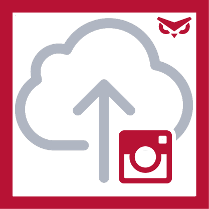 Mobile Photo Uploader App Logo