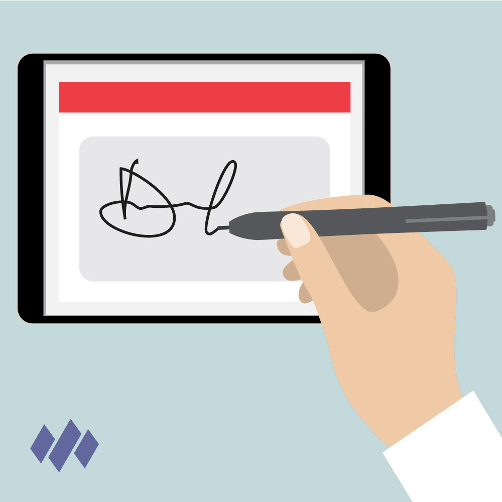 Watkyn Signature Pad App Logo