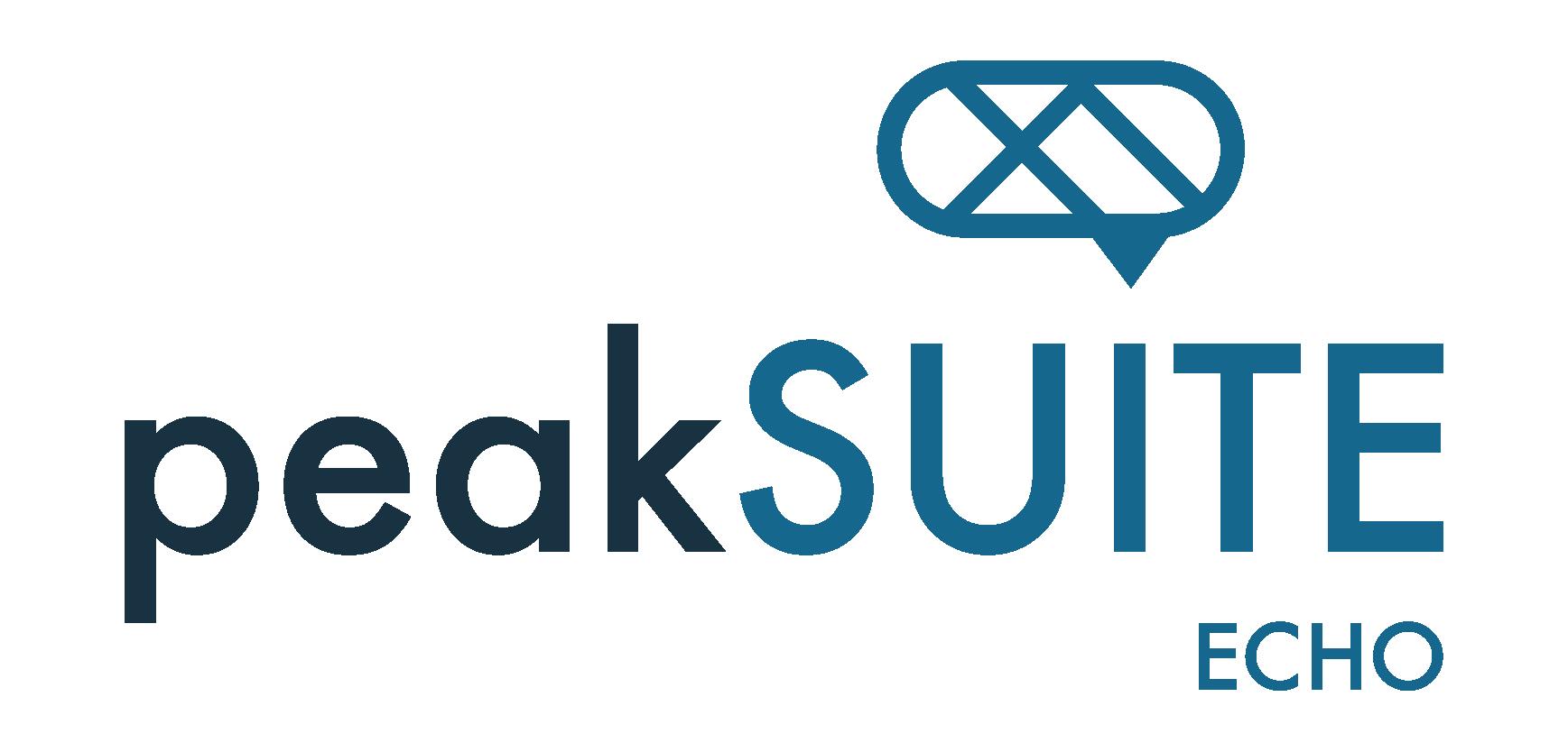 peakSUITE | Echo App Logo