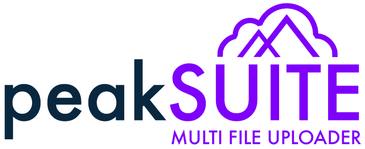 peakSUITE | Multi File Uploader Logo